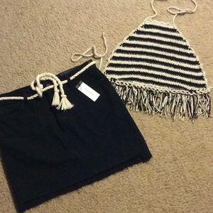 NEW! Sanctuary Denim Skirt